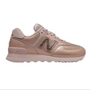 New balance 574 metallic sneakers